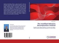 Capa do livro de The modified Adomian decomposition method