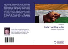 Bookcover of Indian banking sector