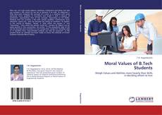 Bookcover of Moral Values of B.Tech Students