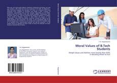 Capa do livro de Moral Values of B.Tech Students