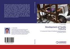 Bookcover of Development of Textile Industry