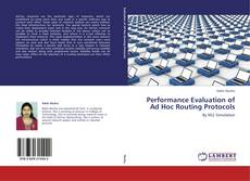 Capa do livro de Performance Evaluation of Ad Hoc Routing Protocols