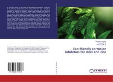 Bookcover of Eco-friendly corrosion inhibitors for steel and zinc
