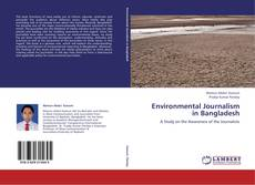 Buchcover von Environmental Journalism in Bangladesh