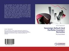 Sovereign Default And Portfolio Investors' Remedies kitap kapağı