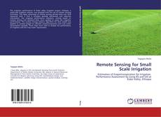 Bookcover of Remote Sensing for Small Scale Irrigation