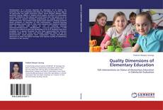 Copertina di Quality Dimensions of Elementary Education