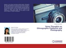 Capa do livro de Some Thoughts on Ethnographic Fieldwork and Photography