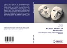 Cultural Aspects of Depression kitap kapağı