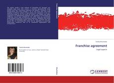Buchcover von Franchise agreement