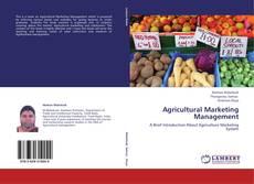 Bookcover of Agricultural Marketing Management