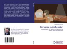 Couverture de Corruption in Afghanistan