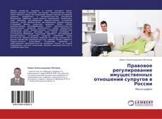 Bookcover of Правовое регулирование имущественных отношений супругов в России