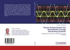 Capa do livro de Power Enhancement for Piezoelectric Energy Harvesting Systems