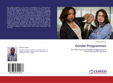 Bookcover of Gender Programmes