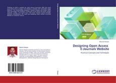 Copertina di Designing Open Access   E-Journals Website