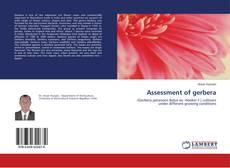 Portada del libro de Assessment of gerbera