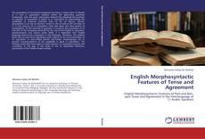 English Morphosyntactic Features of Tense and Agreement kitap kapağı