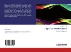 Buchcover von Speaker Identification