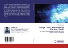 Обложка Foreign Direct Investment In The Arab World