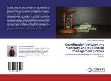 Coordination between the monetary and public debt management policies kitap kapağı