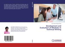 Copertina di Development and Evaluation of Modules in Technical Writing