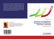 Capa do livro de Teachers' and Students' Perceptions of Effective Grammar Teaching