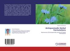Antispasmodic Herbal Formulations kitap kapağı