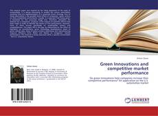 Bookcover of Green Innovations and competitive market performance