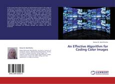 Buchcover von An Effective Algorithm for Coding Color Images