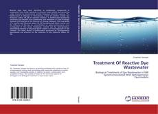Couverture de Treatment Of Reactive Dye Wastewater