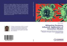 Capa do livro de Mitigating Pandemic Influenza: Application of Simulation Models