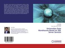 Buchcover von Universities Data Warehouses Based on SQL Server Services
