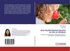 Buchcover von Oral Health Related Quality of Life in Children