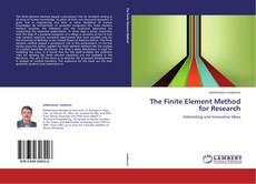 Portada del libro de The Finite Element Method for Research