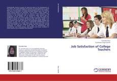 Bookcover of Job Satisfaction of College Teachers
