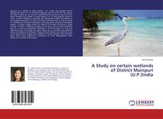 Bookcover of A Study on certain wetlands of District Mainpuri (U.P.)India