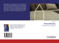 Bookcover of Home Ministry