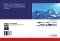 Buchcover von Нормы гражданского права и формы их внешнего выражения