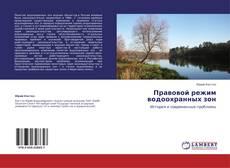 Bookcover of Правовой режим водоохранных зон