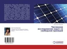 Buchcover von Численное исследование задач со свободной границей