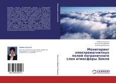 Обложка Мониторинг электромагнитных полей пограничного слоя атмосферы Земли