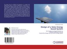 Обложка Design of a Solar Energy based System