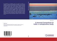 Bookcover of E-Journal Consortium In India: a comperative study
