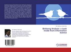 Couverture de Birdsong Analysis:  a Look Inside from Information Science