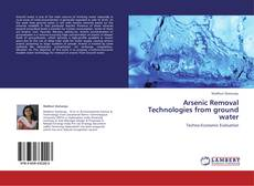 Portada del libro de Arsenic Removal Technologies from ground water