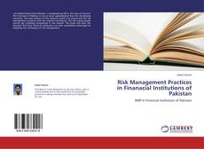 Buchcover von Risk Management Practices in Finanacial Institutions of Pakistan