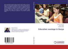 Bookcover of Education wastage in Kenya