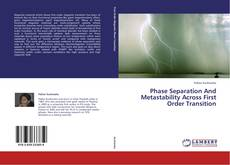 Phase Separation And Metastability Across First Order Transition kitap kapağı