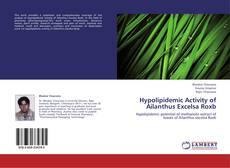 Bookcover of Hypolipidemic Activity of Ailanthus Excelsa Roxb